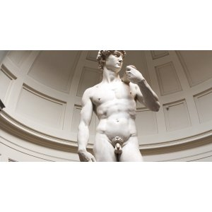 佛罗伦萨:米开朗基罗《大卫像》学院美术馆导览游