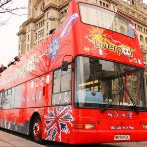 47折 提供中文导览利物浦观光巴士 著名景点一网打尽 £15起