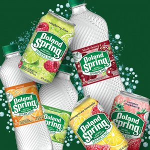 FreeSparkling Poland Spring Natural Spring Water Promotion 8 Packs