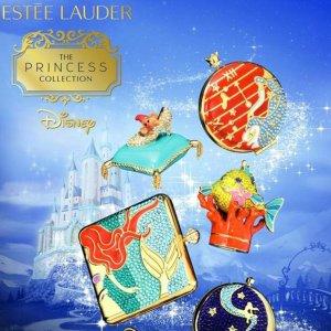 全场7折 €105收灰姑娘粉饼盒Estee Lauder X Disney 迪士尼联名彩妆来袭 在逃公主快集合