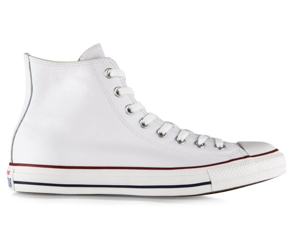Chuck Taylor Leather All Stars Hi - White
