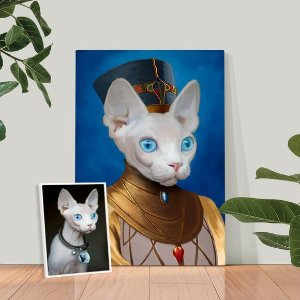 additional $10 offIconic Paw Custom Pet Portrait on Sale