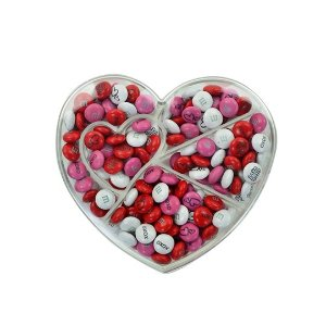 M&M'sPersonalizable M&M'S Heart Shaped Candy Box