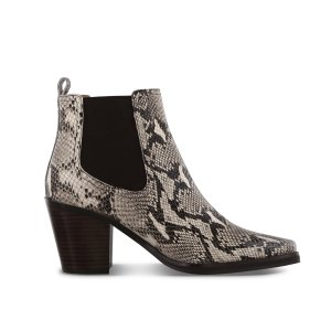 Tony BiancoGeneva 蛇皮纹短靴