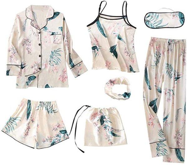 热带风 睡衣7件套