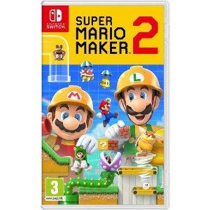 Nintendo马里奥制造2 Switch 实体版