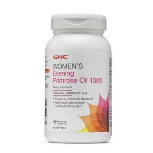 Ending Soon: $14.99GNC Women's Evening Primrose Oil 1300