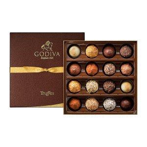 Godiva经典松露巧克力礼盒 16颗