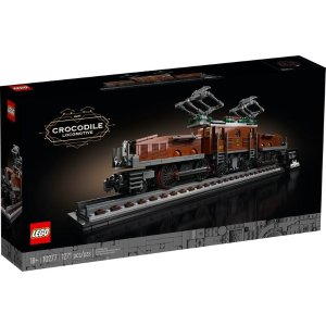Lego鳄鱼机车10277
