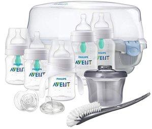 $42.05史低价:Philips Avent 飞利浦新安怡新生儿防胀气奶瓶及消毒用具套装