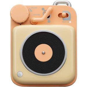 69.99Muzen Button Metal with Lanyard Mini Bluetooth Speaker