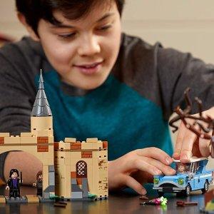 直降20欧 哈迷必入LEGO 哈利·波特系列75953 霍格沃茨城门与打人柳折扣啦