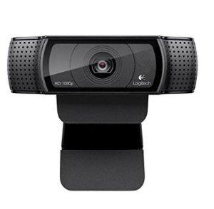 销量冠军+史低价$59.99Logitech 罗技 Pro C920 高清网络摄像头