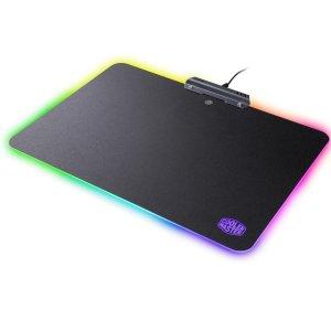 $14.99(原价$39.99)Cooler Master RGB鼠标垫 雷蛇烈焰神虫的平价替代