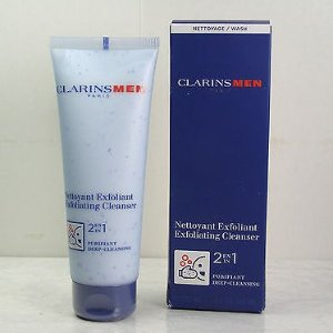 $15.44(Org. $21)Clarins Men 2 in 1 Exfoliating Cleanser 4.4 oz