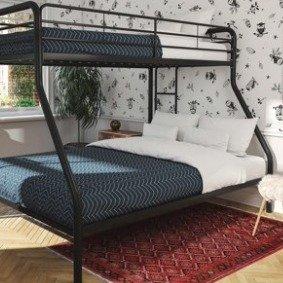 $149 (原价$236)Dorel DHP 儿童高低床,节省空间好帮手