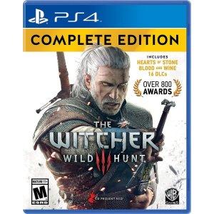$29.99(原价$41.99)《巫师3 狂猎 完整版》PS4版 得奖数800次