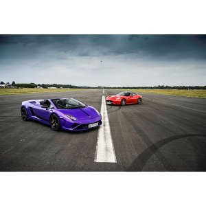 Buyagift双人高速超级跑车驾驶