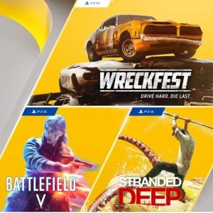 FreePlayStation Plus games for May: Battlefield V, Stranded Deep, Wreckfest: Drive Hard. Die Last.
