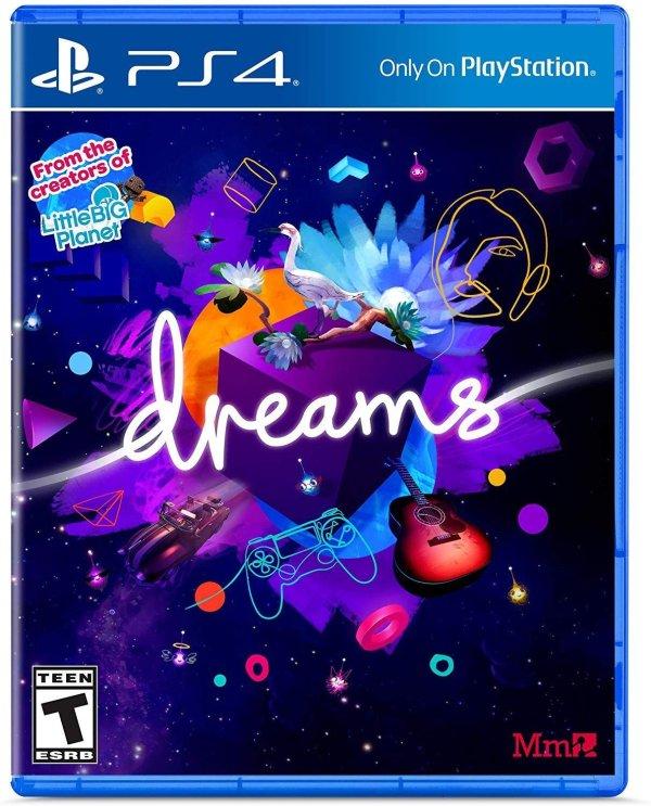 《Dreams》PlayStation 4 实体版 小小大星球原班人马打造