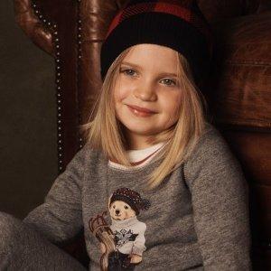 低至4折+额外6折+无门槛包邮Ralph Lauren 儿童服饰热卖 短袖T恤$7.19起