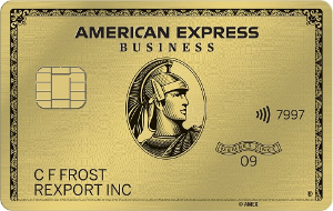 Get 4X Membership Rewards® points on the 2 select categories. Terms Apply.American Express® Business Gold Card