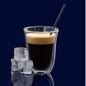 史低价:DeLonghi 双壁隔热拿铁玻璃杯,2个