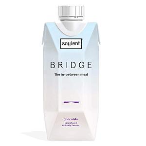 $20.50闪购:Soylent Bridge 高蛋白巧克力代餐 11oz 包12瓶