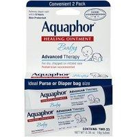 Aquaphor Baby 万用膏 2管,0.35盎司/管