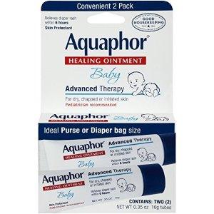 AquaphorBaby 万用膏 2管,0.35盎司/管