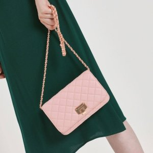 Only For $59Quilted Clutch @ Charles & Keith