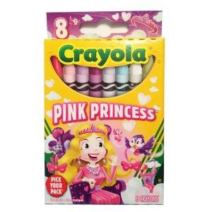 Crayola 公主蜡笔8支