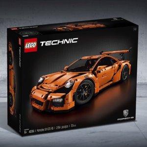 现价 £179.99 (原价£259.99)手慢无:LEGO 乐高 科技系列 42056 保时捷 911 GT3 RS