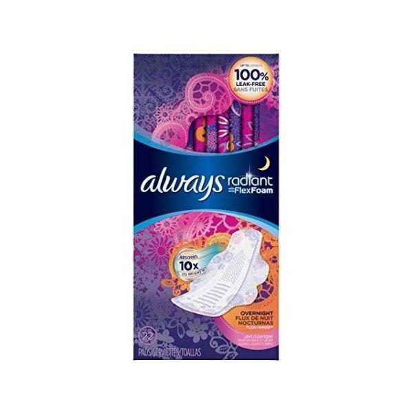 Radian 夜用卫生巾 3盒装60片
