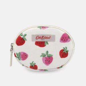 4折起 £7就收草莓钱包Cath Kidston官网 钱包、零钱包大促 可可爱爱 好看不贵