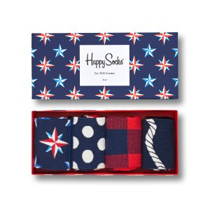 Happy SocksNautical Gift Box