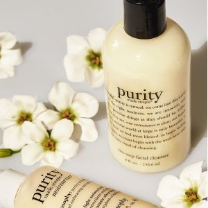 Buy 1 Get 1 FreeDealmoon Exclusive: Philosophy Purity made simple one-step facial cleanser