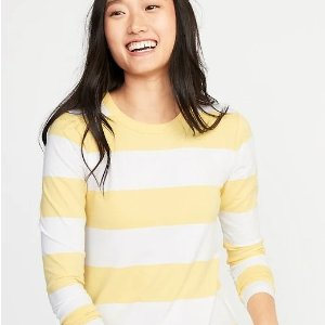 Today Only: $7Long-sleeve Tees Sale @Old Navy
