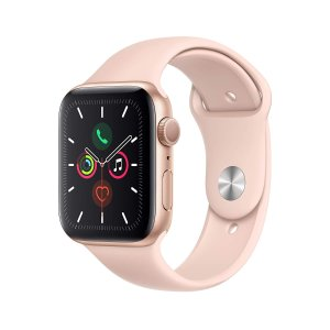 $384.99Apple Watch Series 5 (GPS, 44mm) - Gold Aluminum Case with Pink Sport Band