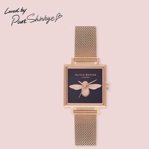 低至4.8折 £52入手精美繁花腕表Olivia Burton小蜜蜂、繁花系列腕表 折扣感人