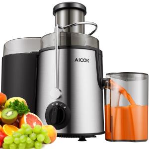 £38.99(原价£99.99)Aicok 旋转型果蔬榨汁机 亚马逊5分销冠王