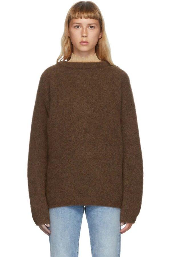 马海毛毛衣