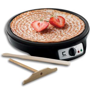 $24.99(原价$64.6)史低价:Chefman 12英寸不粘煎饼果子神器 (包括木制煎饼刮板)