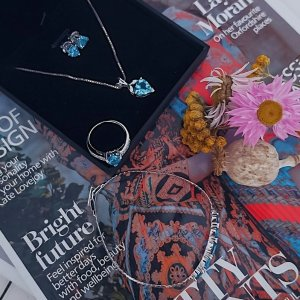 低至8.4折Ruby & Oscar 宝石、水晶、珍珠首饰 气质高级感配饰
