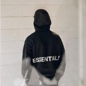 3折起!Essentials卫衣£59!END. 百镑卫衣专场 断货王Essentials、Alpha、Acne、Champion