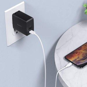 低至$12.99Aukey USB Type-C 电源适配器