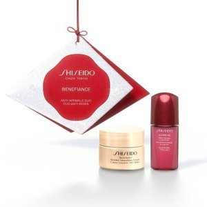 Shiseido含30ml面霜!价值£68!盼丽风姿面霜+红腰子