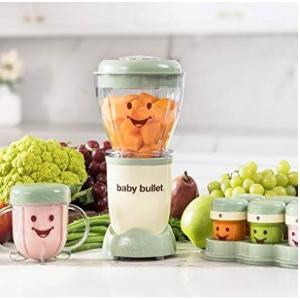 史低价+销量冠军$47.49(原价$103.99)Baby Bullet 婴儿食物料理机套装