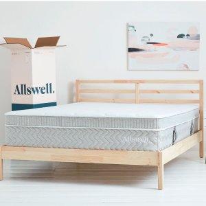 8.5折 带给你非凡睡眠体验独家:Allswell The Supreme 全新至奢床垫 记忆棉弹簧完美结合