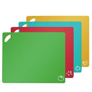 $6.99 (原价$13.99)Fu Store 彩色分类砧板 4片